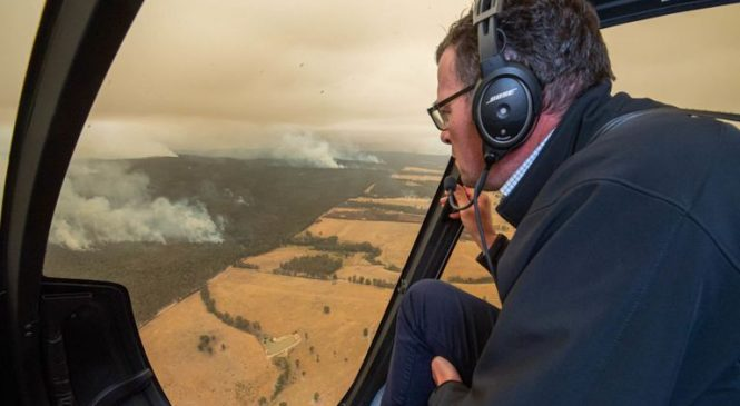 Do not be here on Saturday: Stark warning for those in path of bushfires