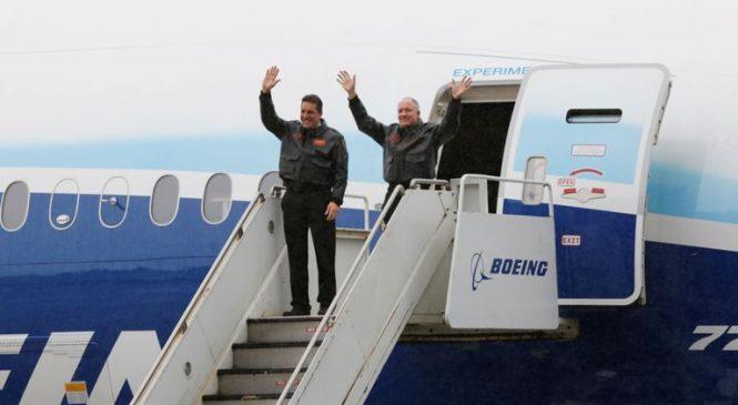 One of world's biggest passenger planes completes test flight
