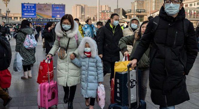 Screening in UK as China warns virus is 'mutating'