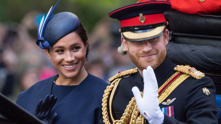 Meghan and Harry announced they will be taking a 'step back' from being senior royals