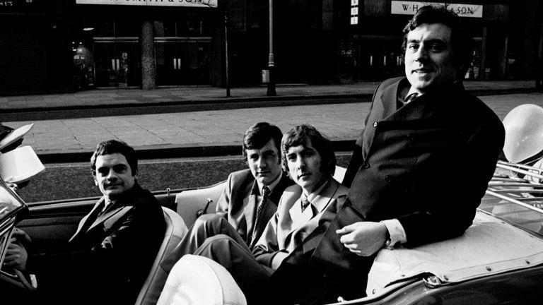 'Do Not Adjust Your Set' - David Jason, Michael Palin, Eric Idle and Terry Jones, 1967
