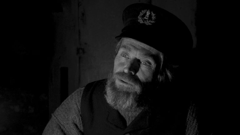 Willem Dafoe in The Lighthouse. Pic. Universal