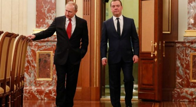 Russia's PM and govt resign as Putin plans constitution overhaul