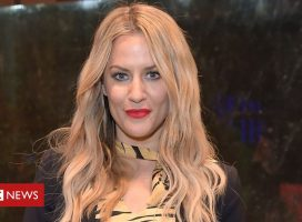 Caroline Flack's unpublished Instagram post released by family