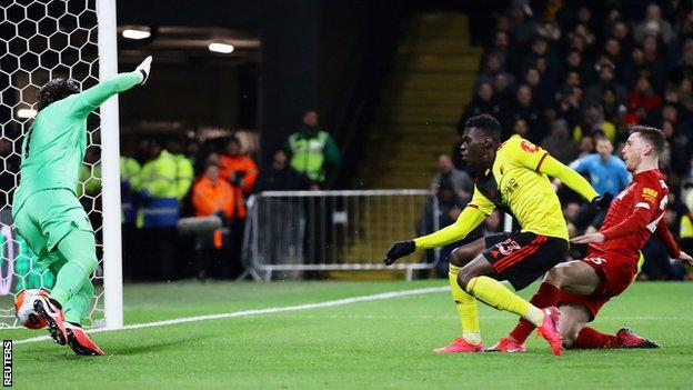 Watford 3-0 Liverpool: Jurgen Klopp's side lose first Premier League game of the season