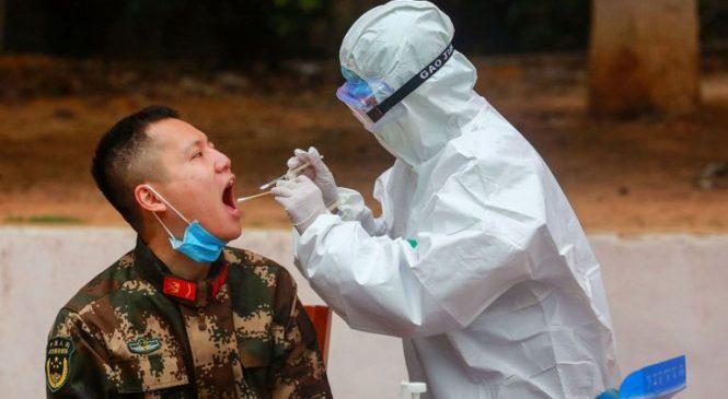 WHO urges 'extreme caution' over coronavirus slowdown