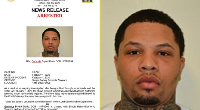 Boxing news: Gervonta Davis arrested and charged after altercation with mother of his child caught on video