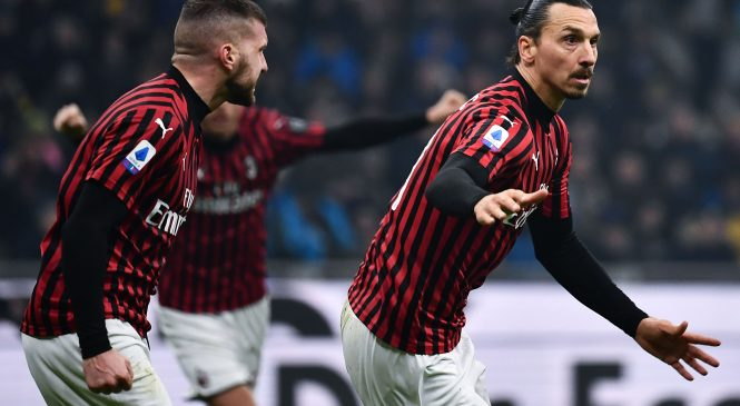 Zlatan Ibrahimovic scores and assists in thrilling Milan derby as Inter come from two goals down to win