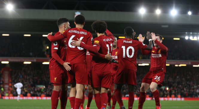 Liverpool just FOUR wins from first Premier League crown as Reds scrape past spirited West Ham
