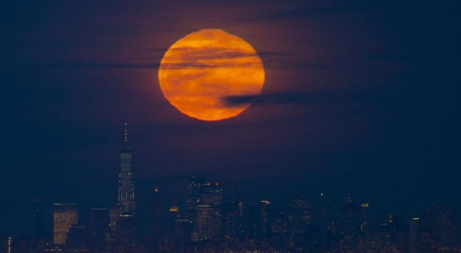 Snow moon to shine all weekend