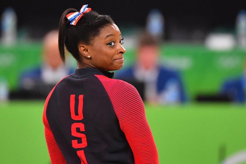 Watch: Gymnast Simone Biles teases groundbreaking flips