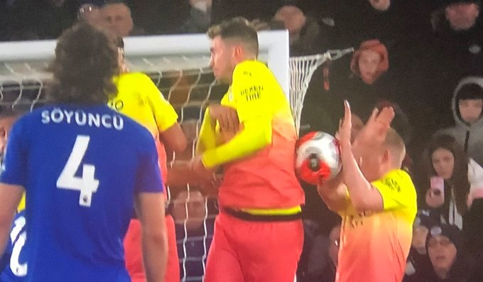 A penalty against Man City could have changed the course of the game