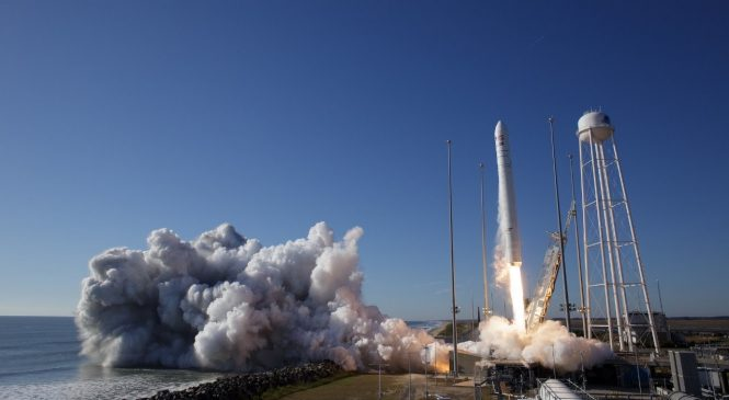 Northrop launches International Space Station cargo mission from Virginia
