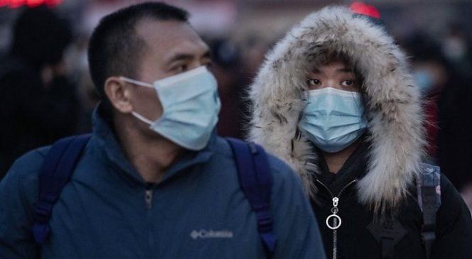 Coronavirus: China shares in biggest fall in four years