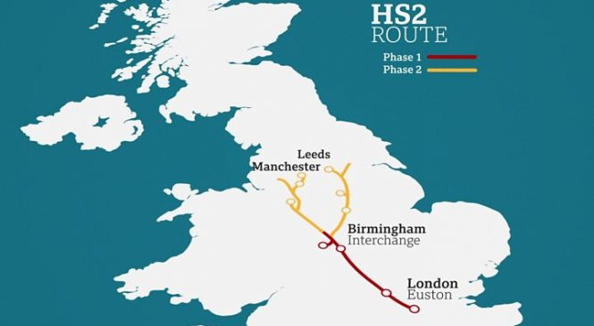 HS2: UK in talks with China over construction of high-speed line