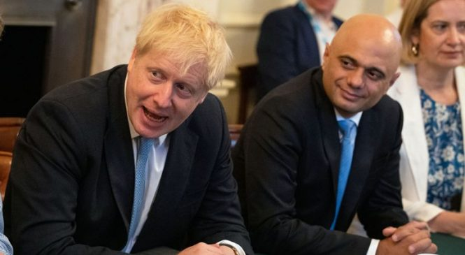 Sajid Javid says PM left him with 'no choice' but to quit