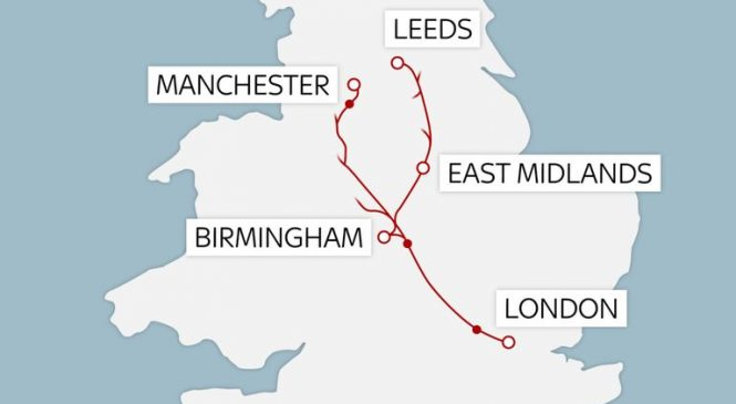 Chinese firm says it can build HS2 in five years and at much lower cost