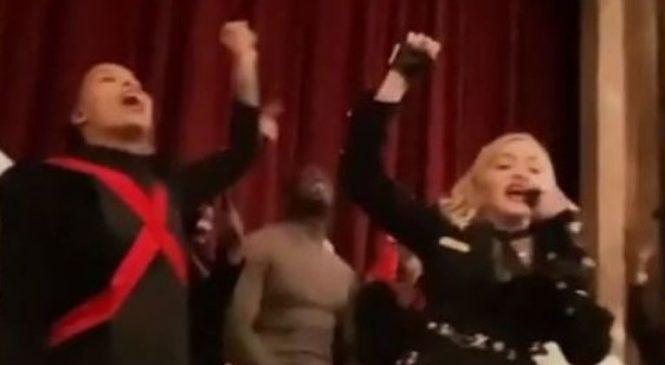 Palladium denies dropping curtain on Madonna's Madame X show