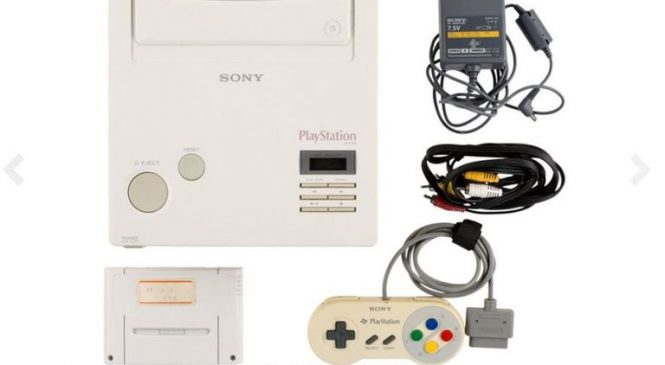Unreleased Nintendo PlayStation console goes up for auction