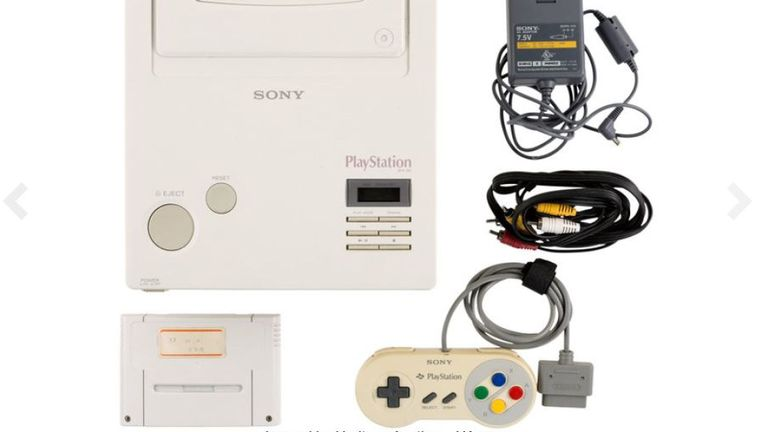 The console comes with all the necessary cables and a controller. Pic: Heritage Auctions