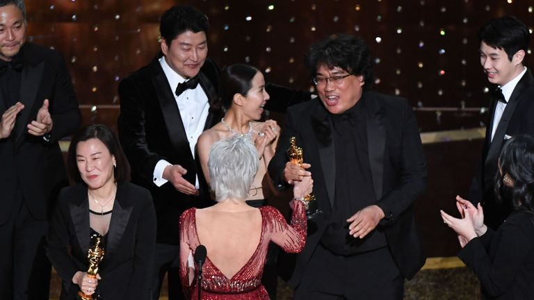 Oscars 2020: Parasite makes history as it wins best picture