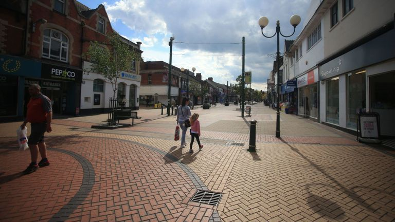 High streets have suffered particularly as shoppers remain cautious