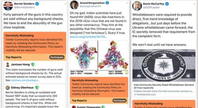 UK politicians could see lies flagged by Twitter