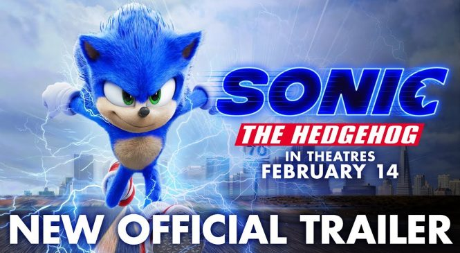 'Sonic' tops the North American box office with $57M