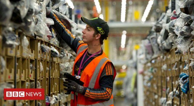 Coronavirus: Amazon blocks non-essential items from warehouses