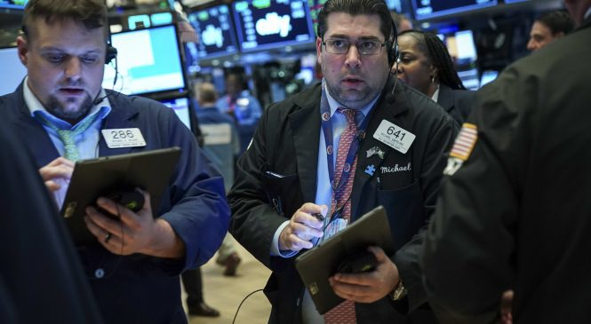 US stock futures rise slightly following Dow's third-worst day ever