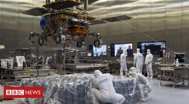 ExoMars Rosalind Franklin: Rover mission delayed until 2022