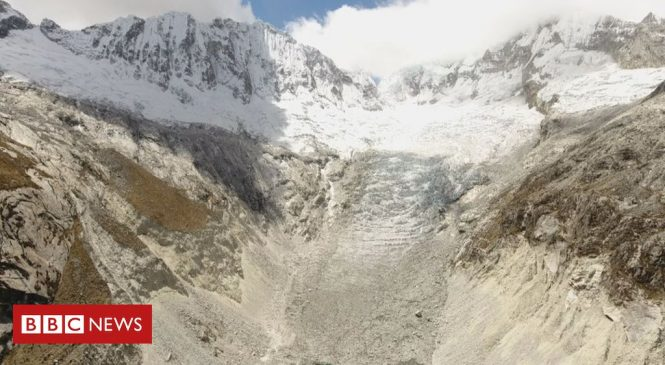Edinburgh University researchers use drones to map retreating Andes glaciers