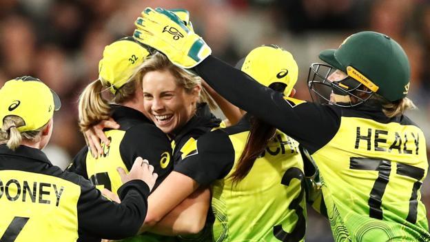 Women's T20 World Cup final: Australia beat India at MCG