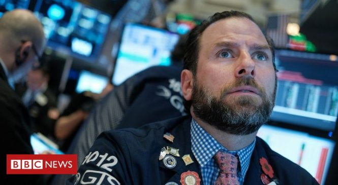 Global shares plunge in worst day since financial crisis