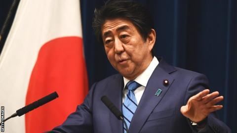 Coronavirus: Tokyo Olympics will go ahead, says Japan's PM Shinzo Abe