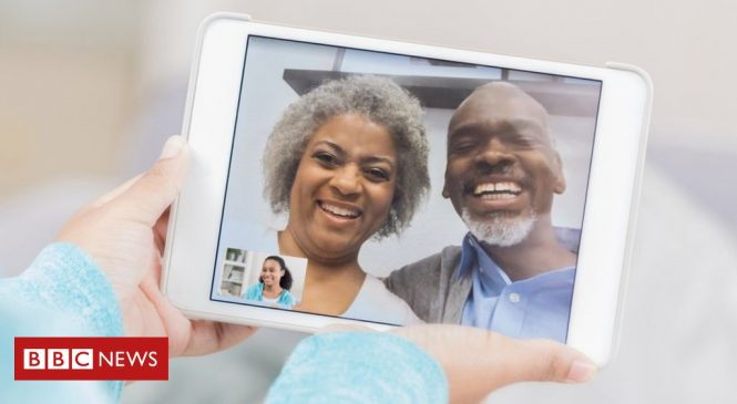 Coronavirus: How to stay in virtual touch with older relatives
