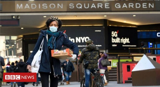 Coronavirus hits all 50 US states as death toll rises