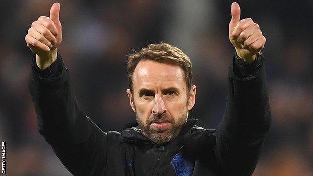 Coronavirus: Gareth Southgate urges England fans to 'look out for each other'