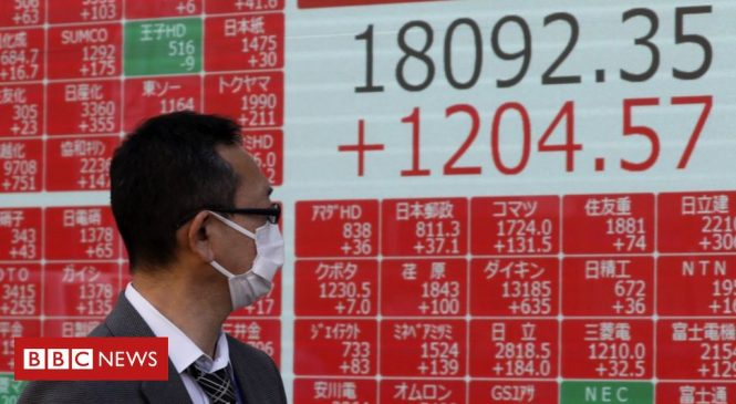 Coronavirus: Asia markets rise after US stimulus package agreed