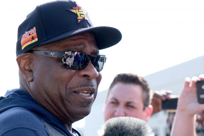Alex Bregman: Winning title for Dusty Baker on Astros' minds