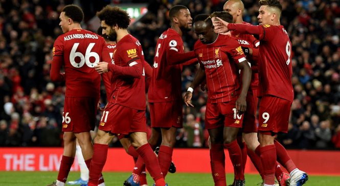 How Liverpool have gone from Premier League champions-elect to dancing up some stairs and rationing tea bags