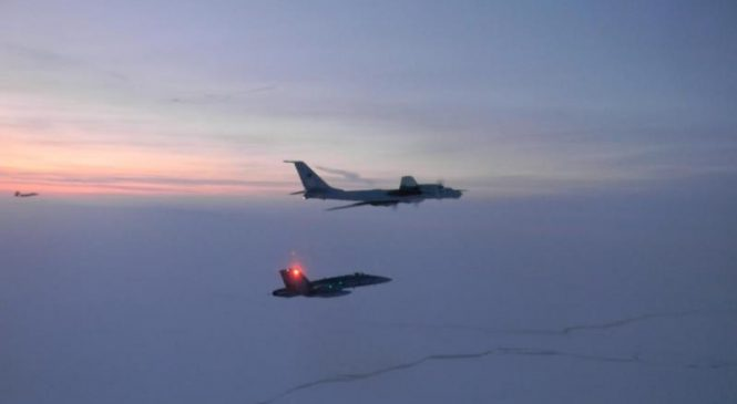 NORAD, Royal Canadian Air Force intercept Russian plane off Alaskan coast