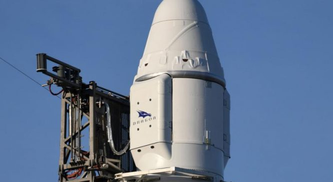 SpaceX launches 20th space station cargo mission