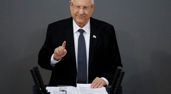 Israeli president urges deadlocked blocs to consider unity