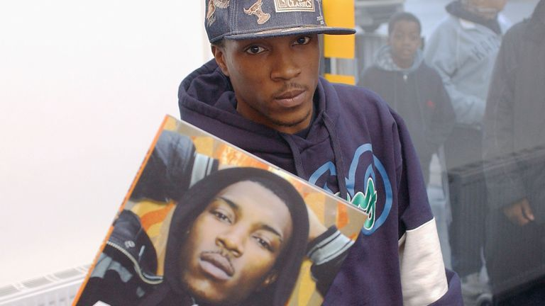 """So Solid Crew member Asher D (Ashley Walters) attends a signing to promote his autobiography """"So Solid"""", published yesterday, at Newham Bookshop on April 6, 2004 in London"""