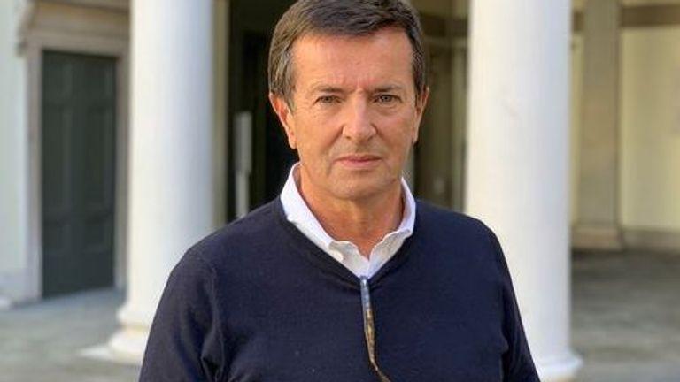 Mayor of Bergamo, Georgio Gori has been tasked with dealing with the crisis