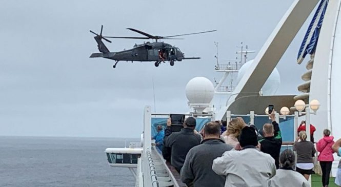 Cruise ships seek safe harbour as world takes drastic steps to halt COVID-19
