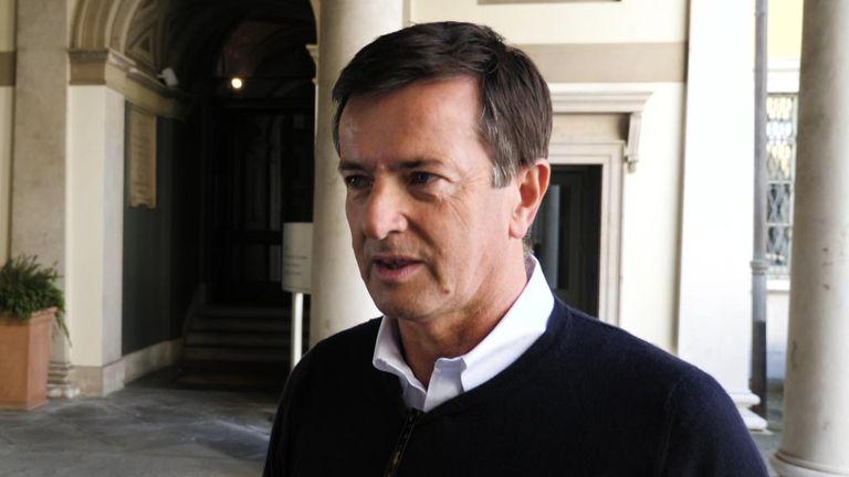 Mayor of Bergamo, Giorgio Gori