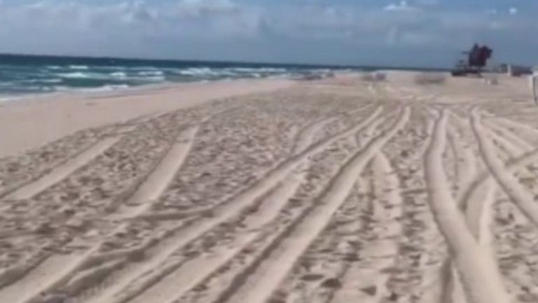 Australian beach closed after hundreds gather in defiance of 'social distancing' rules