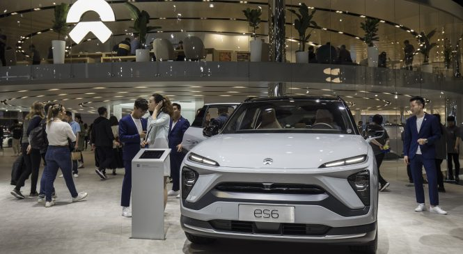 China's battered Tesla rival Nio brushes off coronavirus impact, says the worst is over